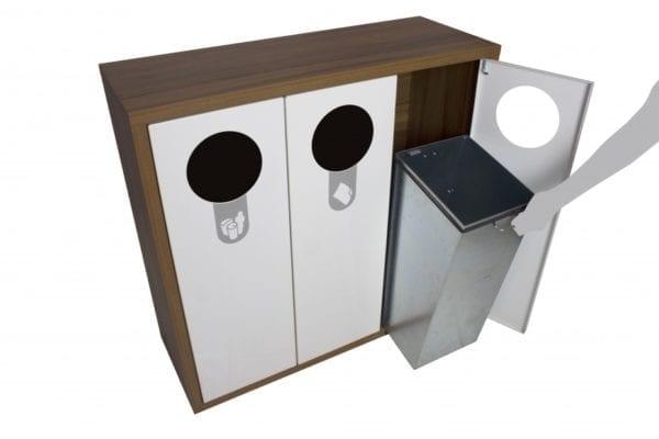 Avfallsbeholder, kildesortering