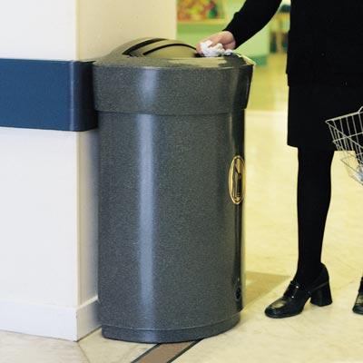 Envoy 110 - Innendørs avfallsbeholder i plast 110l