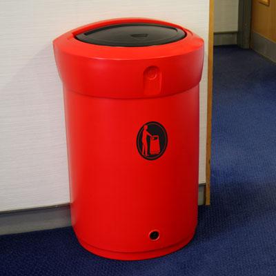 Envoy 110 - Innendørs avfallsbeholder i plast, 110l