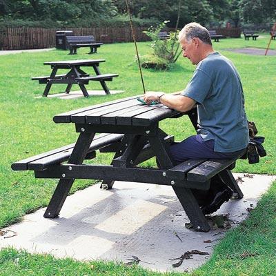 Piknikbord