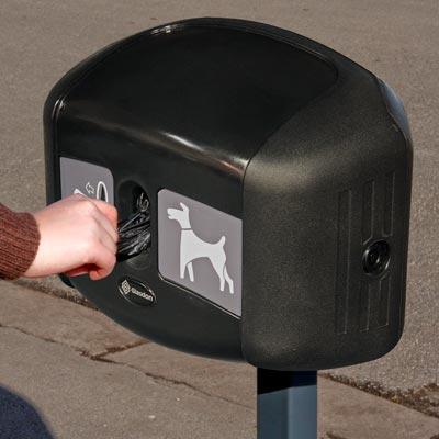 hundelatrine, hundeposedispenser, hundeavfall