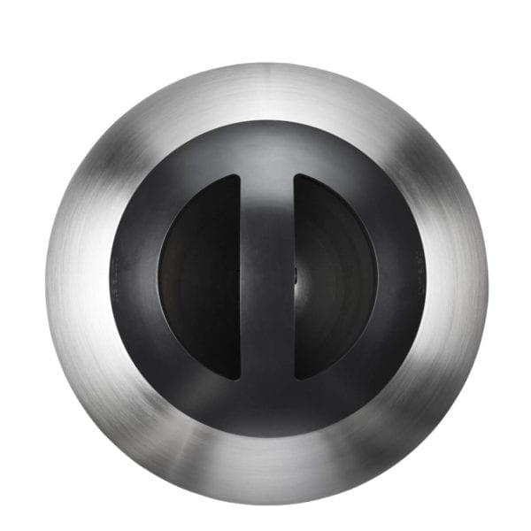 Bubble - Avfallsbeholder med stor kapasitet 360l og 600l, i metall