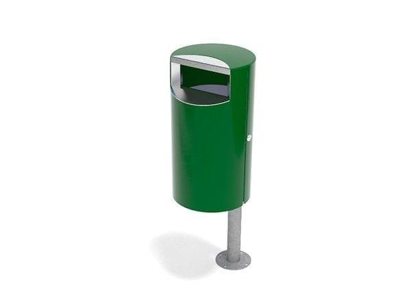 City 30 - Avfallsbeholder på 30l, montert på stolpe