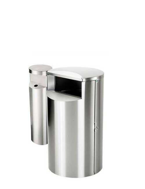 City 30 Combi - Avfallsbeholder på 30l med askebeger